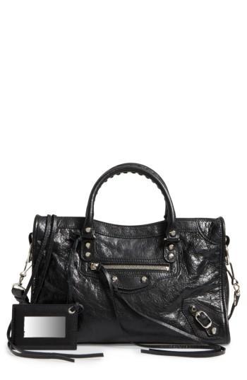 Balenciaga Small Classic City Leather Tote -