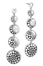 Women's John Hardy Dot Hammered Drop Earrings