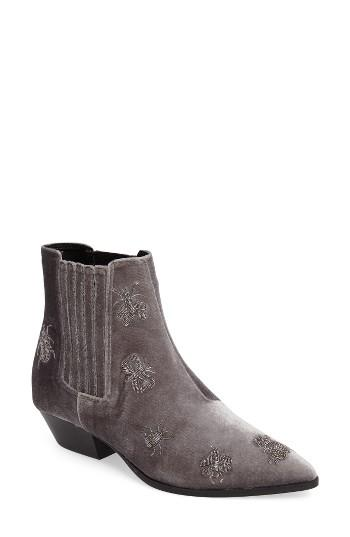 Women's Topshop Ants Ankle Boot .5us / 37eu - Grey