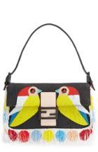 Fendi 'bird' Beaded Baguette -