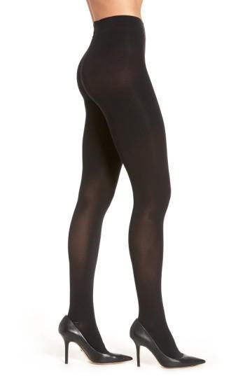 Women's Wolford Velvet 66 Shaping Tights - Black