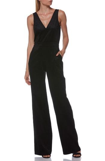 Women's Paige Sienne Corduroy Jumpsuit - Black