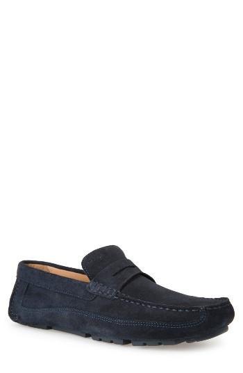 Men's Geox Melbourne 1 Driving Shoe Us / 39eu - Blue