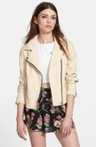 Women's Blanknyc Faux Leather Moto Jacket
