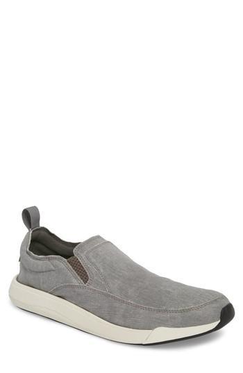 Men's Sanuk Chiba Quest Slip-on Sneaker /9 M - Grey