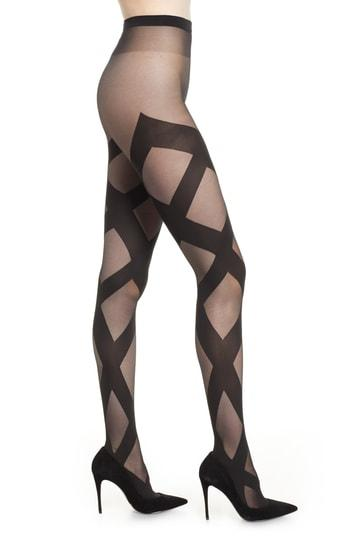Women's Wolford Anita Tights - Black