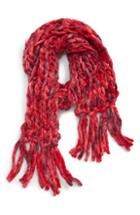 Women's Leith Chunky Oblong Chain Knit Scarf, Size - Pink