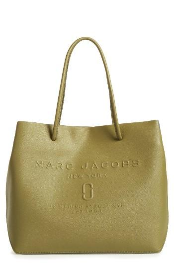 Marc Jacobs Logo Leather Shopper -