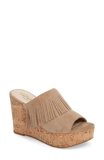 Women's Ariat Unbridled Leigh Fringe Mule M - Brown