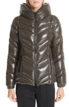 Women's Moncler Fuligule Guibbotto Hooded Puffer Coat - Green