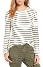 Women's Caslon Long Sleeve Crewneck Tee - Ivory