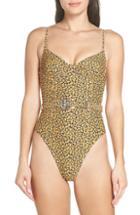 Women's Onia Danielle One-piece Swimsuit - Yellow