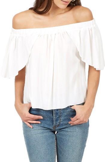 Women's Delacy Allegra Off The Shoulder Top - White