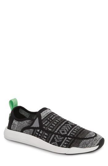 Men's Sanuk Chiba Quest Knit Slip-on Sneaker /9 M - Grey
