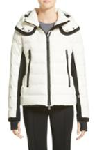 Women's Moncler Lamoura Quilted Down Puffer Coat - White