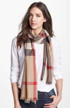 Women's Burberry Check Scarf -