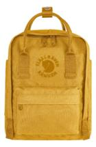 Fjallraven Re-kanken Water Resistant Backpack - Yellow