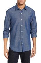Men's Culturata Washed Denim Woven Sport Shirt