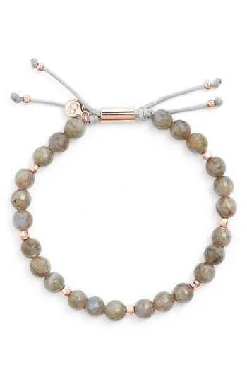 Women's Gorjana Power Bead Adjustable Bracelet