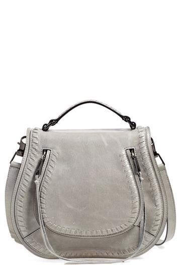 Rebecca Minkoff 'vanity' Saddle Bag - Grey