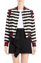Women's Msgm Stripe Bomber Jacket