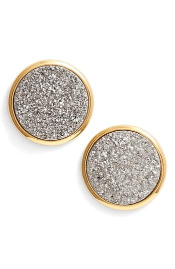 Women's Gorjana Astoria Large Drusy Stud Earrings