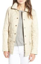 Women's Barbour 'beadnell - Summer' Quilted Jacket Us / 8 Uk - Ivory
