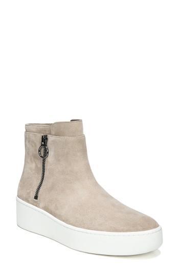 Women's Via Spiga Easton High Top Sneaker M - Grey