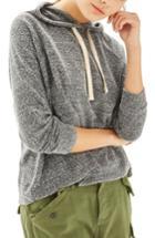 Women's Topshop Boiled Hoodie Us (fits Like 2-4) - Grey