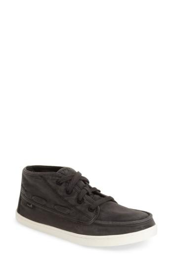 Women's Sanuk 'vee K Shawn' High Top Sneaker .5 M - Black