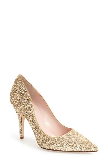 Women's Kate Spade New York 'licorice Too' Pump M - Metallic