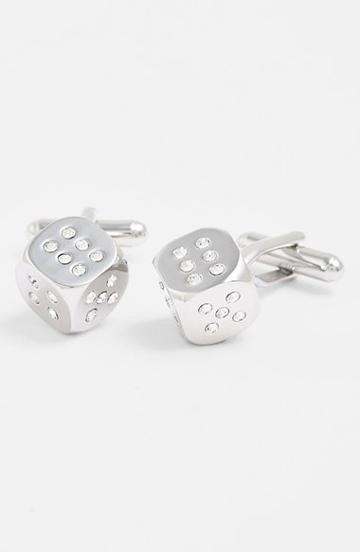Men's Link Up Dice Cuff Links