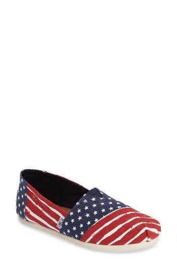 Women's Toms Americana Alpargata Slip-on