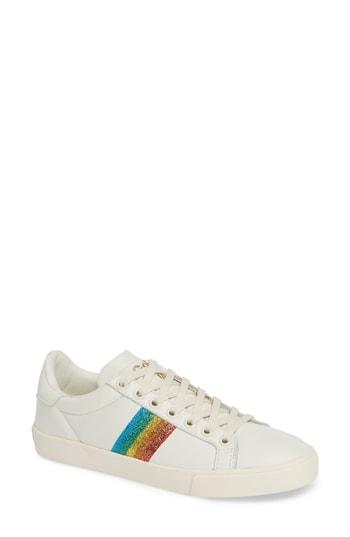 Women's Gola Orchid Rainbow Glitter Sneaker M - White