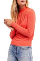 Women's Free People Time After Time Sweater - Coral
