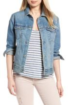 Women's Ag The Nancy Boyfriend Denim Jacket - Blue