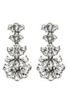 Women's Ben-amun Cascading Crystals Drop Earrings