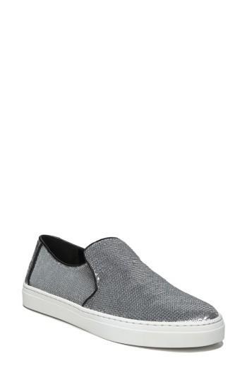 Women's Diane Von Furstenberg Budapest Slip-on Sneaker M - Grey