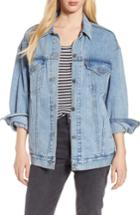 Women's Levi's Baggy Trucker Denim Jacket - Blue