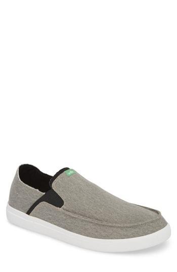 Men's Sanuk Pickpocket Slip-on Sneaker M - Blue