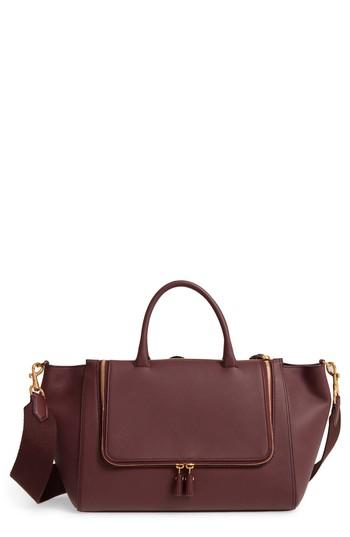 Anya Hindmarch Vere Leather Tote - Red