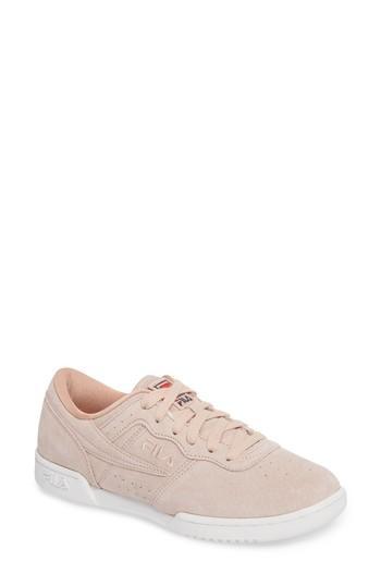 Women's Fila Original Fitness Premium Sneaker .5 M - Pink