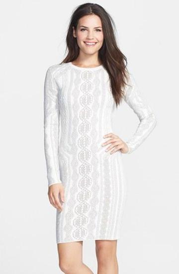 Bcbgmaxazria 'jaime' Cotton Blend Sweater