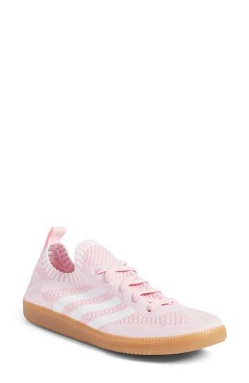 Women's Adidas Samba Primeknit Sneaker M - Pink