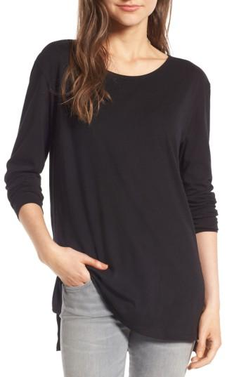 Women's Bp. Side Slit Tee - Black