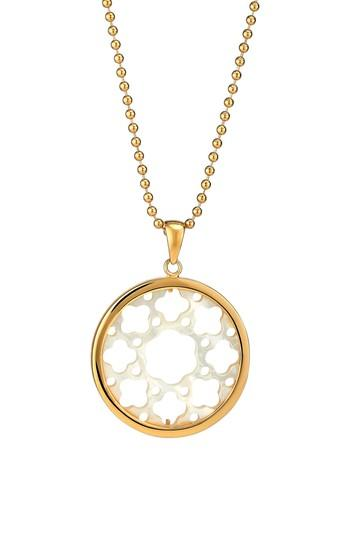 Women's Asha Carlotta Mother-of-pearl Long Pendant Necklace