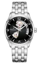 Men's Hamilton Jazzmaster Open Heart Automatic Bracelet Watch, 42mm