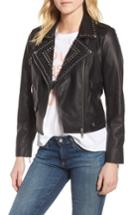 Women's Rebecca Minkoff Wes Leather Moto Jacket