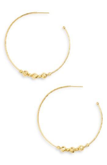 Women's Gorjana Taner Bead Hoop Earrings