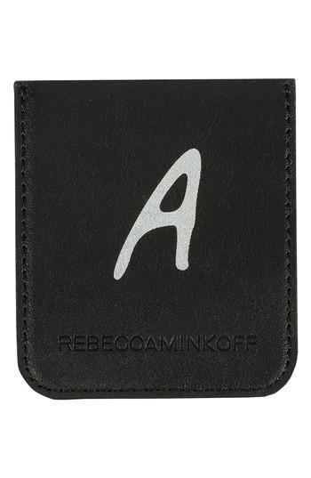 Rebecca Minkoff Initial Smartphone Sticker Pocket - Black